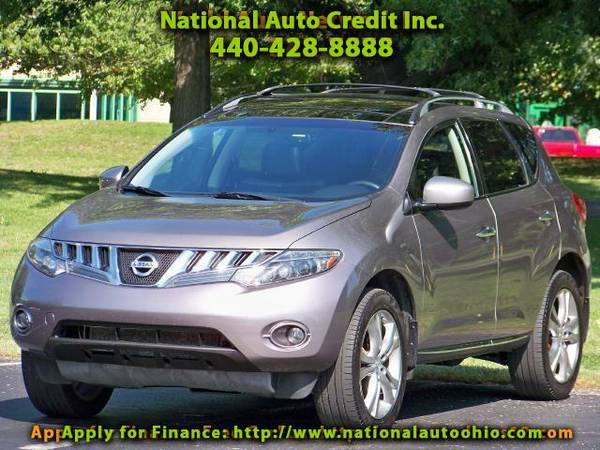 2009 Nissan Murano LE AWD. 1-Owner Vehicle. Premium Stereo. Power Sun