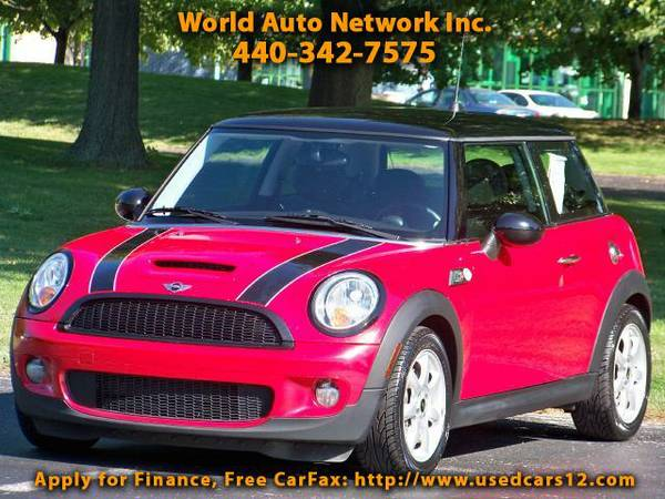 2009 MINI Cooper S. Heated Leather Seats Package. Low Mileage Vehic