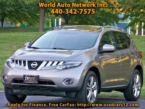 2009 Nissan Murano LE AWD. GPS Navigation & Jukebox Audio Package. He
