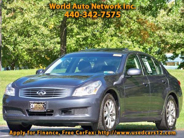 2007 Infiniti G35 x AWD. GPS Navigation System. Heated Leather Seats