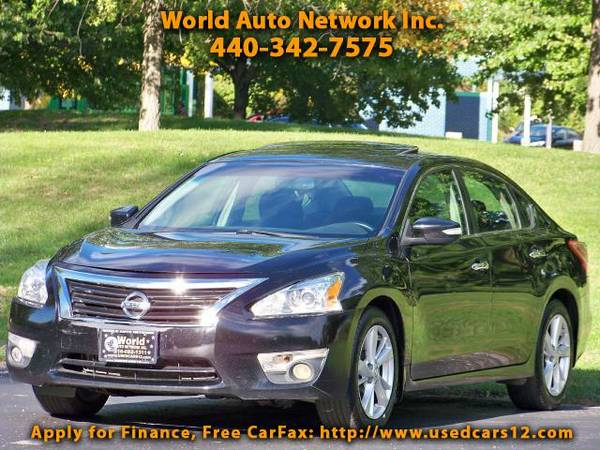 2013 Nissan Altima 2.5 SV. 1-Owner Vehicle. GPS Navigation System. Re