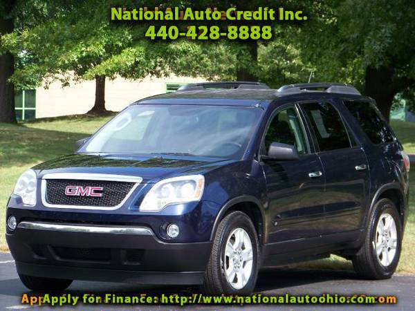 2009 GMC Acadia SLE-1 AWD ONE OWNER VEHCIL LEATHER SEATS