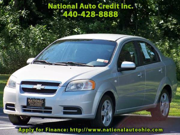 2007 Chevrolet Aveo LT. 1-Owner Vehicle. Low Mileage Vehicle 100k. WEL