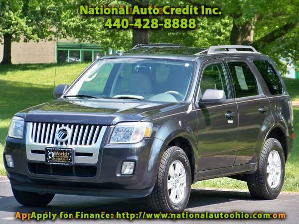 2010 Mercury Mariner V6 1-Owner Vehicle. Leather Seats & Power Sunroof
