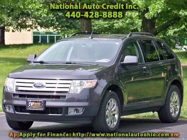 2007 Ford Edge SEL. Chrome Wheels. Low Mileage Vehicle 107k. FULL