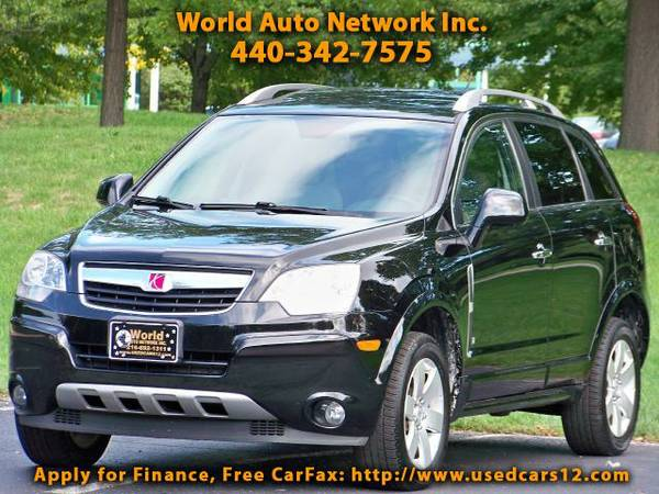 2008 Saturn VUE V6 XR. AWD. 1-Owner vehicle. Low mileage 82K. Heat