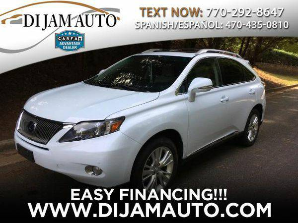 2010 *Lexus* *RX* *450h* AWD - ALL CREDIT WELCOME/Warranty Available