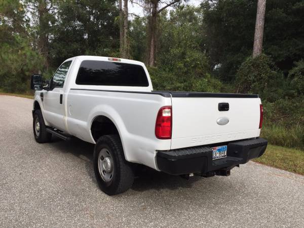 2008 Ford F250 F-250 Super Duty XL 2dr Regular Cab 4WD LB