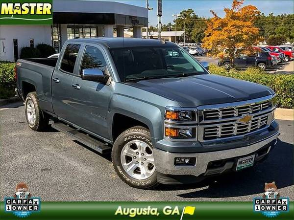 2014 *Chevrolet SILVERADO 1500* LT - (Blue)