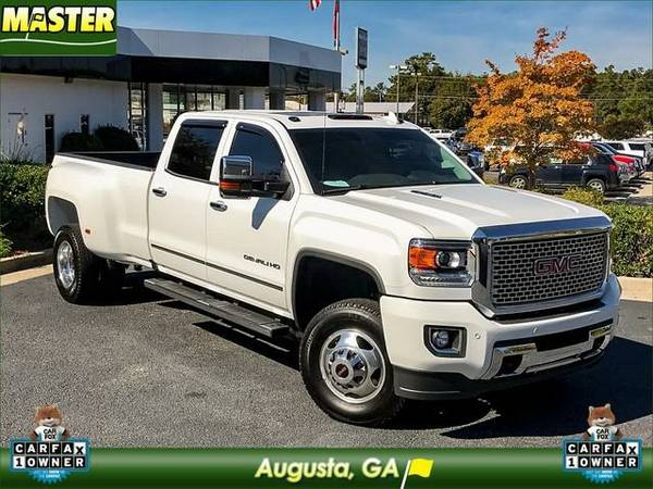 2016 *GMC SIERRA 3500* HD - (Summit White)