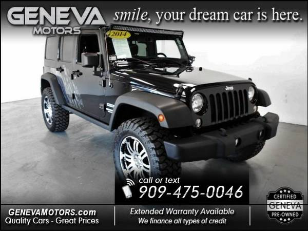 2014 JEEP Wrangler Unlimited Unlimited Sport SUV 4D