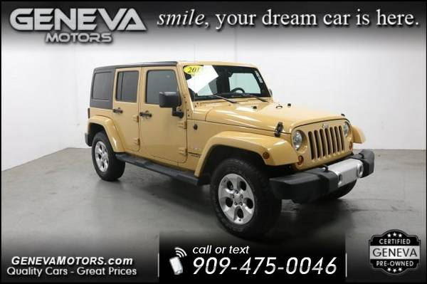 2013 JEEP Wrangler Unlimited Unlimited Sahara Sport Utility 4D