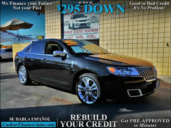 As Low as $295.00 Down* 2011 Lincoln MKZ
