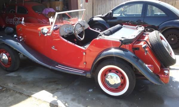1952 replica dutchess royal vw base runs and drives!!!