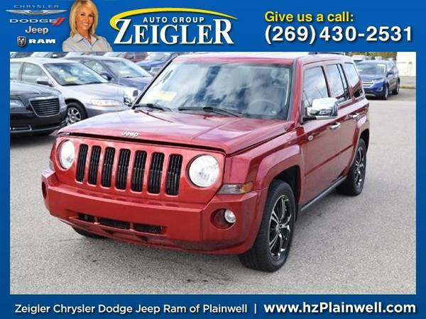 2008 Jeep Patriot Sport SUV Patriot Jeep