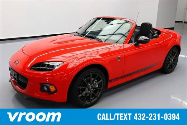 2015 Mazda MX-5 Miata Club 2dr Convertible 6A w/Power Hard Top 7 DAY R