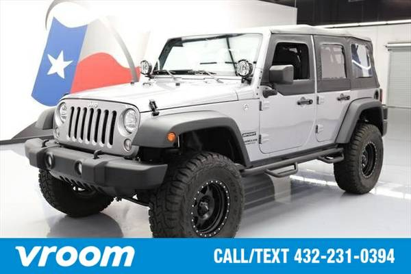 2016 Jeep Wrangler Unlimited Sport 7 DAY RETURN / 3000 CARS IN STOCK
