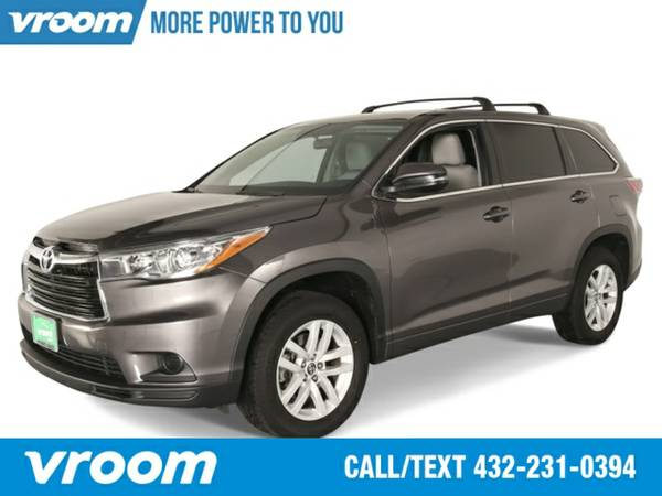 2016 Toyota Highlander LE SUV 7 DAY RETURN / 3000 CARS IN STOCK