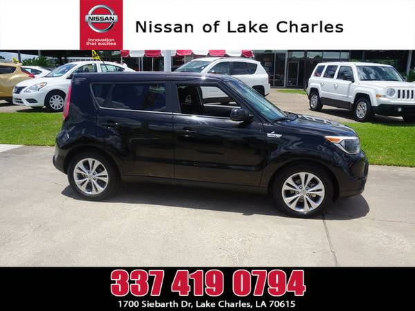 *2016* *Kia Soul* ** *Shadow Black*