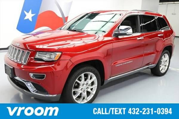2014 Jeep Grand Cherokee Summit 7 DAY RETURN / 3000 CARS IN STOCK
