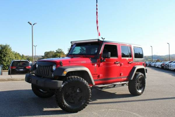 2015 Jeep Wrangler 4D Sport Utility Unlimited Sport 8,018 miles low...