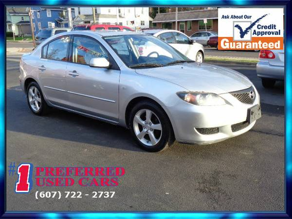 2005 Mazda 3I!! Super Low 68k Miles!! Guaranteed Credit Approval!!