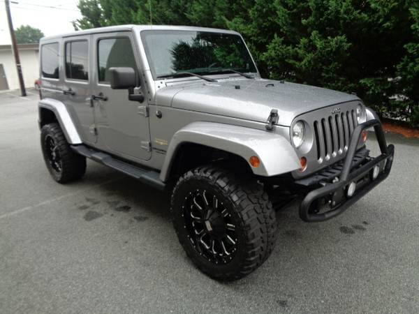 2013 Jeep Wrangler Unlimited Sahara 4X4 Auto *BUY HERE PAY HERE!*