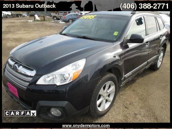 2013 Subaru Outback 2.5i Premium AWD 4dr Wagon CVT, AWD, Carfax 1...