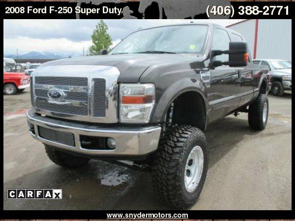 2008 Ford F-250 Crew Cab 6.4L Powerstroke, New Long block, Lifted,...