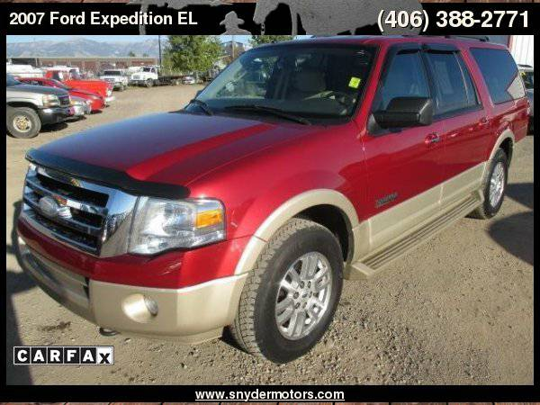 2007 Ford Expedition EL Eddie Bauer 4dr SUV 4x4 Super Clean, EL,...
