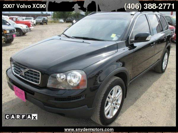 2007 Volvo XC90 AWD 1 OWNER 3rd Row CLEAN! ONLY 112k Leather Moonroof