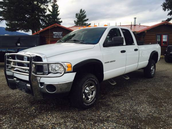 2004 Dodge Ram 3500 Cummins, Manual
