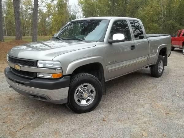 2001 Chevrolet Silverado 2500HD 4wd, 6.0 liter gas