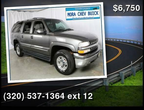 2001 Chevrolet Suburban Gray