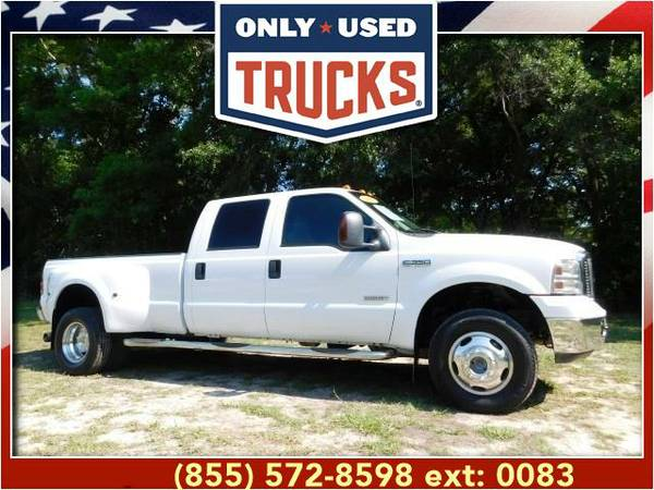 2007 *Ford F350* *F-350*F 350* Lariat 4x4 Super Duty Dually (8cyl,...