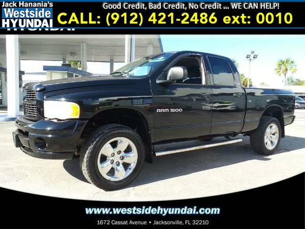 2002 *DODGE RAM 1500* SLT (Black Clearcoat)