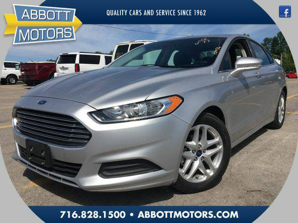 2015 *Ford* *Fusion* SE 1-Owner -BEST DEALS IN BUFFALO!!!