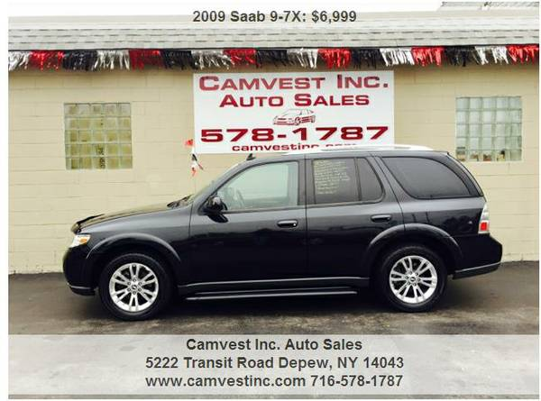 2009 SAAb 9-7X 4.2i AWD BLACK ON BLACK SUNROOF