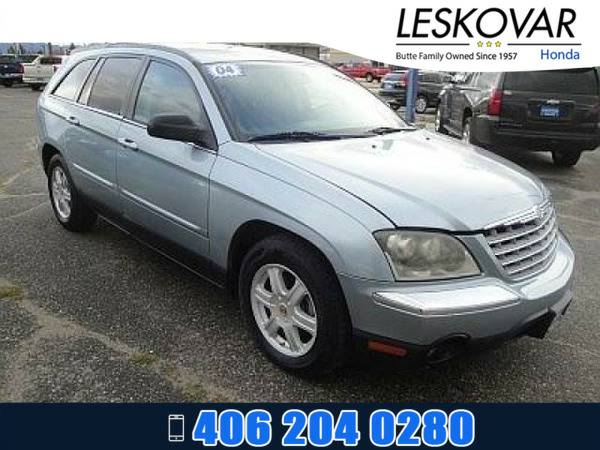 *2004* *Chrysler Pacifica* *Station Wagon Base* *Butane Blue Pearl*