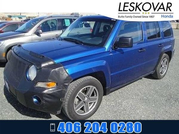 *2009* *Jeep Patriot* *Sport Utility Sport* *Blue*