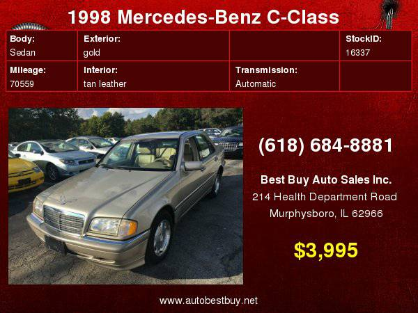 1998 Mercedes-Benz C-Class C280 4dr Sedan Call for Steve or Dean
