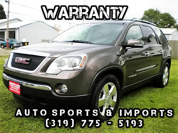Super Clean! Loaded! 2008 GMC Acadia SLT2 - Leather-Navi-Sunroof-DVD