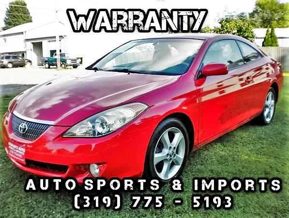 Low Miles! Super Clean ! 2005 Toyota Solara SLE - Leather - Sunroof -
