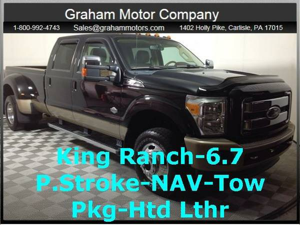 2011 *Ford F-350SD* King Ranch (Tuxedo Black Metallic)