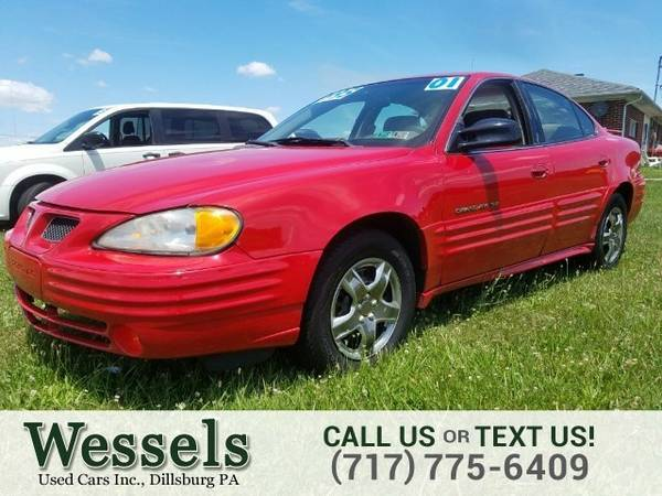 2001 Pontiac Grand Am SE1 Sedan Grand Am Pontiac