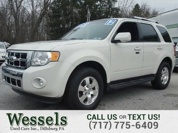 2012 Ford Escape Limited SUV Escape Ford