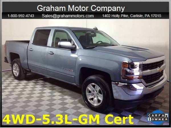 2016 *Chevrolet Silverado 1500* LT (Slate Gray Metallic)