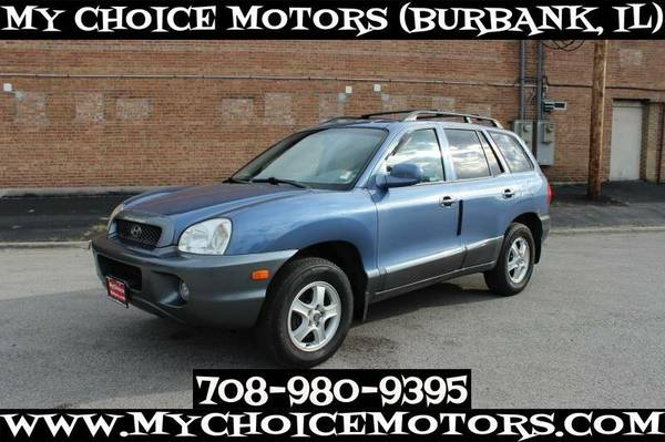 2003 *HYUNDAI* *SANTA FE* GLS SUV SUNROOF GOOD TIRES FOG LIGHTS 384416