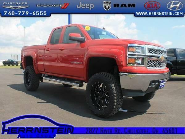 2014 *Chevrolet Silverado 1500* LT1 - (Victory Red) 6 Cyl.