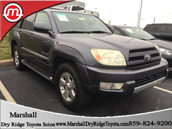 2003 Toyota 4Runner 4D Sport Utility Limited